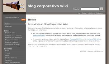Blog Corporativo Wiki