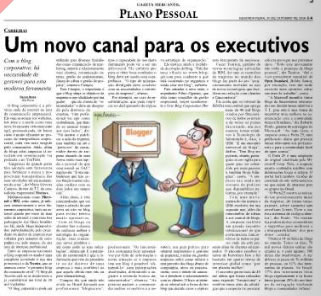 Gazeta Mercantil e Blogs Corporativos